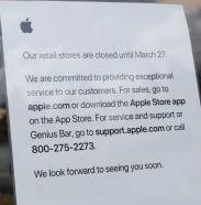 애플, 코로나19에 캘리포니아 매장 일시 폐쇄