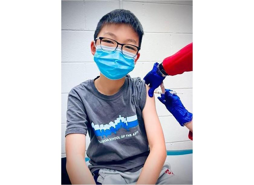 미, 13일부터 12~15세 화이자 백신 접종