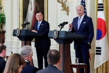 """바이든 """"44조 美투자 한국기업에 감사"""""""
