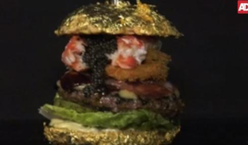 """""""680만원짜리 햄버거입니다""""…금박입힌 빵에 트러플, 캐비어가 줄줄"""