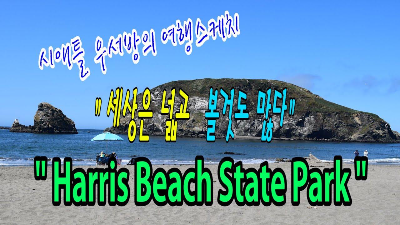 """[시애틀여행] 시애틀우서방의 여행스케치 """"세상은 넓고 볼것도 많다"""" – 66편( Harris Beach State Park, OR)"""