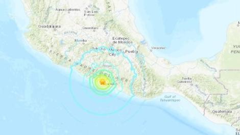 멕시코 남서부서 규모 7.4 강진..쓰나미 경보